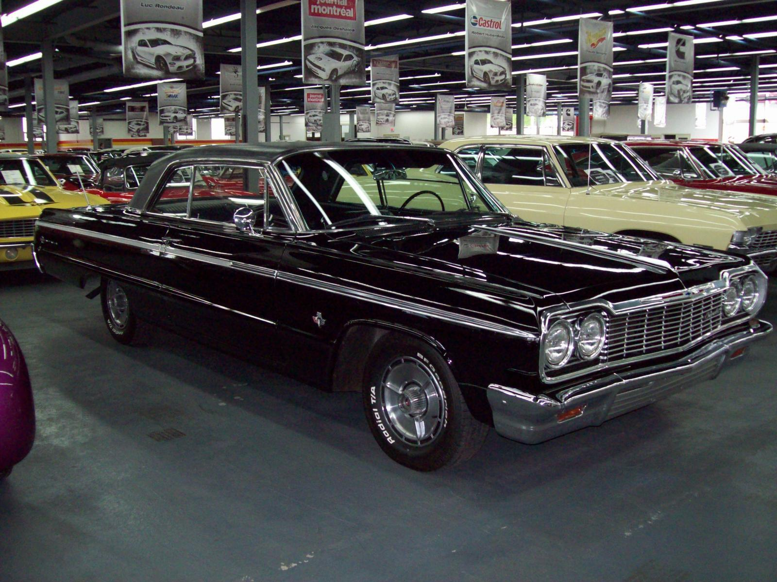 Used 1964 chevrolet impala ss 409 for sale in saint l onard john scotti classic cars h1r 2y7 2070799