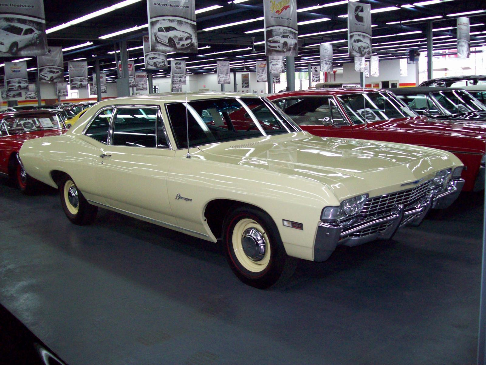 Used Chevrolet Biscayne For Sale John Scotti Classic Cars In Montreal 1968 Caprice 2 Door