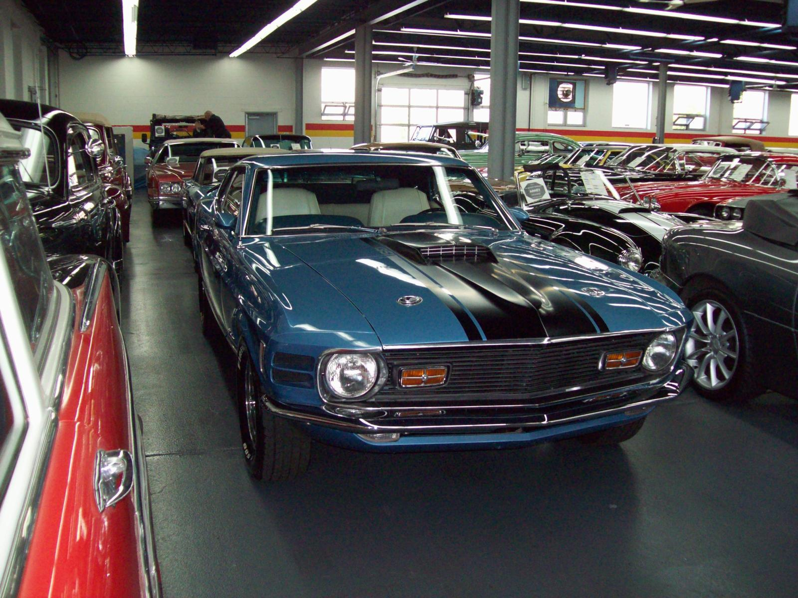 ford mustang mach 1 1969 a vendre