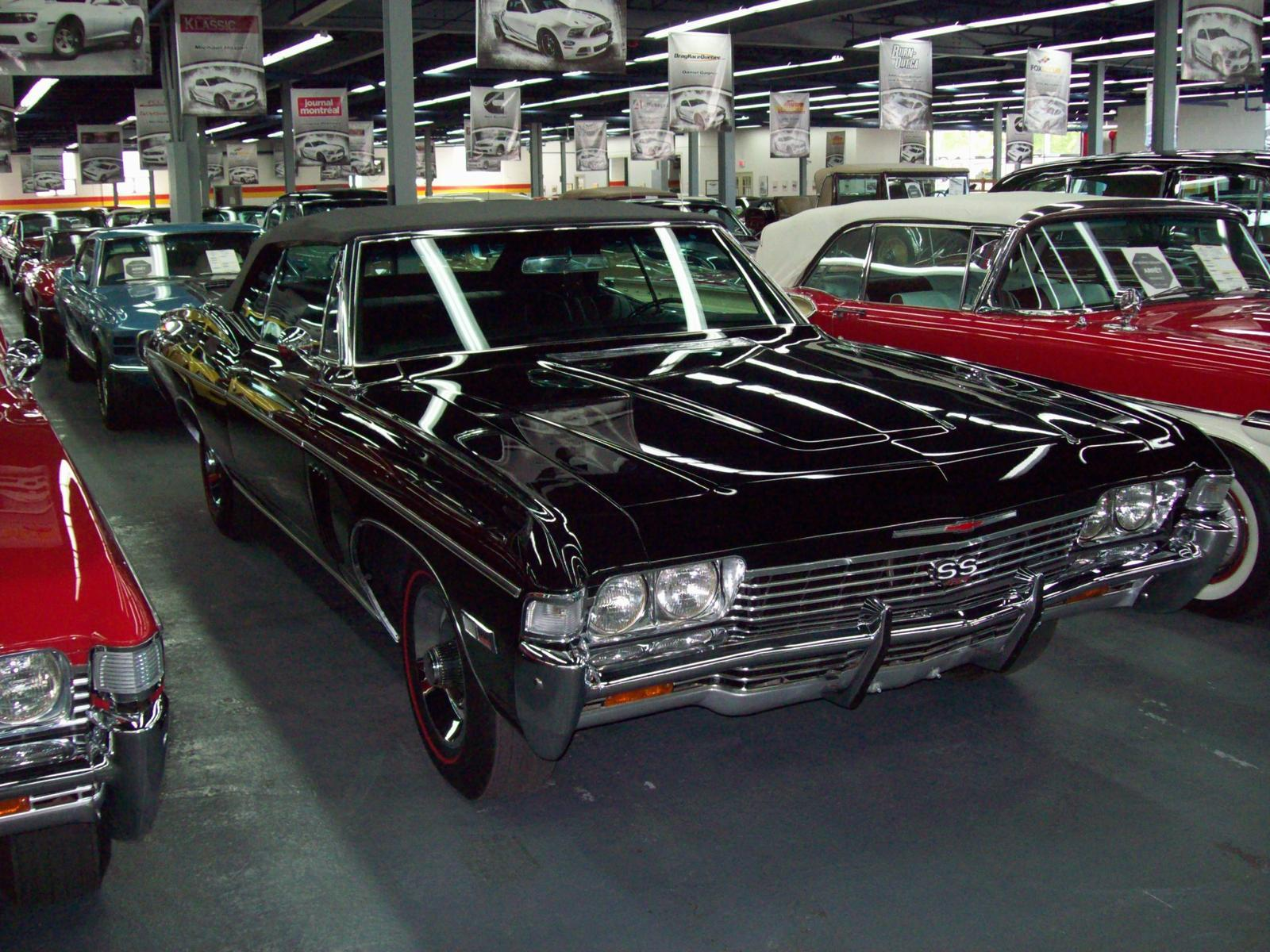 chevrolet impala ss 427 usag vendre john scotti classic cars montr al. Black Bedroom Furniture Sets. Home Design Ideas