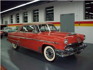 Mercury Monarch Lucerne Convertible 1954
