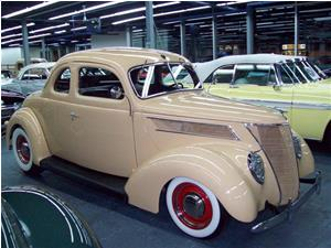 Ford Deluxe 5 Window Coupe Hot Rod 1937