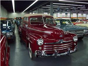 Ford Super 8 Deluxe Convertible 1947