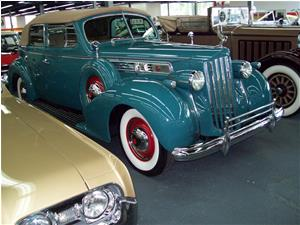Packard Super 8 Convertible 4 Door 1939
