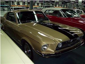 Ford Mustang GT Fastback 428 R Code 1968