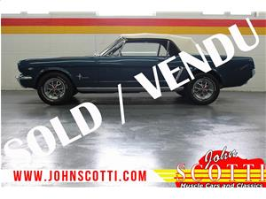 Ford Mustang Conv 289 4-Barrel Fully Restored A Code 4-Speed 1965